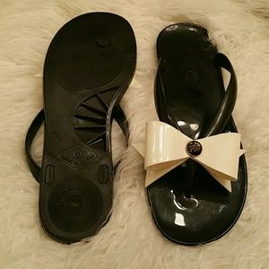 Ted Baker Shoes - Ted Baker Thong Bow Jelly Sandal Size 5